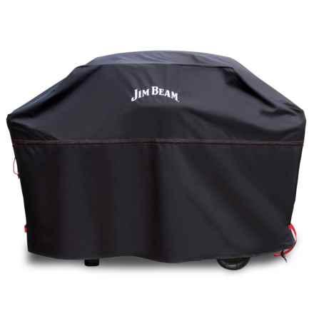 Jim Beam Heavy-Duty Grill Cover - Small/Medium in Black - Closeouts