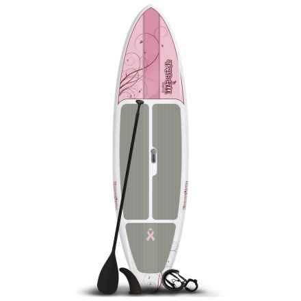 Jimmy Styks Misstyk Stand-Up Paddle Board Package - 10' (For Women) in Pink - Closeouts