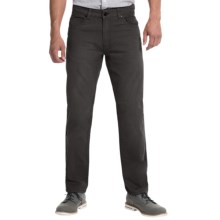 JKL 5-Pocket Twill Pants (For Men) in Black - Closeouts