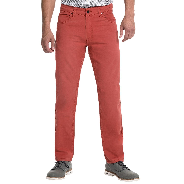 JKL 5-Pocket Twill Pants (For Men) - Save 84%