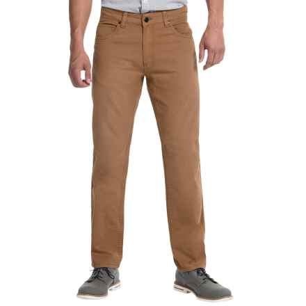JKL 5-Pocket Twill Pants (For Men) in Tawney - Closeouts