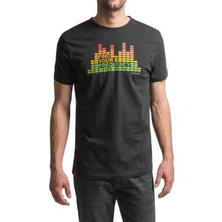 JKL Frequency Graphic T-Shirt - Short Sleeve (For Men) in Black - Closeouts