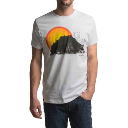 JKL Rise and Shine Graphic T-Shirt - Short Sleeve (For Men) in White - Closeouts