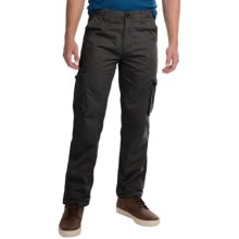 JKL Twill Cargo Pants (For Men) in Black - Closeouts