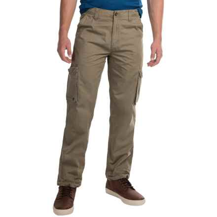 JKL Twill Cargo Pants (For Men) in Olive - Closeouts