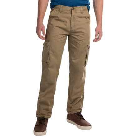 JKL Twill Cargo Pants (For Men) in True Khaki - Closeouts