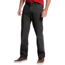 JKL Twill Utility Pants (For Men) in Black - Closeouts