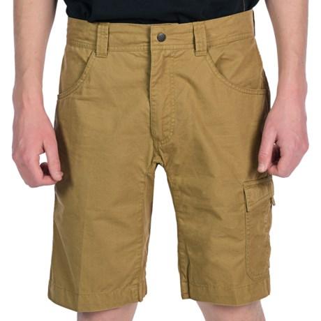 JKL Utility Shorts (For Men) in Stone
