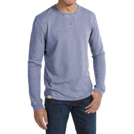 JKL Waffle-Knit Shirt - Crew Neck, Long Sleeve (For Men) in Vintage Indigo - Closeouts