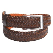 J.L. Powell Blacktail Belt - Leather (For Men) in Brown - Closeouts