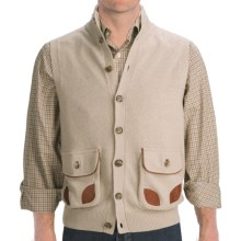 J.L. Powell Sweater Vest - Merino Wool Blend (For Men) in Natural - Closeouts