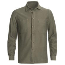 J.L. Powell The Miner Work Shirt - Cotton Twill, Long Sleeve (For Men) in Olive - Closeouts