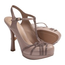 Joan and David Dareith T-Strap Shoes - Leather (For Women) in Pink - Closeouts