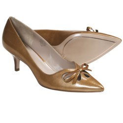 Joan & David Gardner Pumps - Patent Leather (For Women) in Brown
