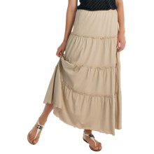 Joan Vass Peasant Skirt (For Women) in New Linen - Overstock