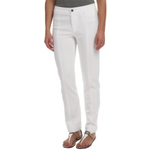 Joan Vass Seamed Pants (For Women) in White - Closeouts
