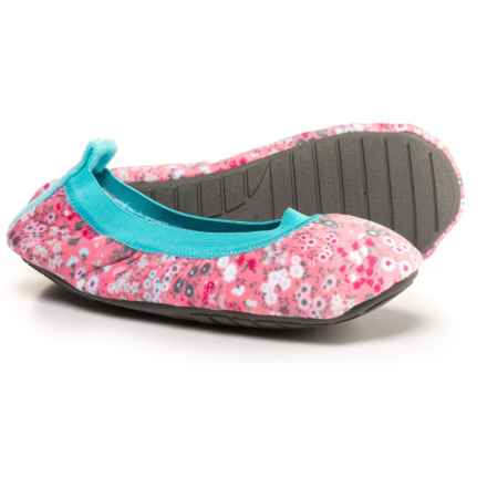 Jockey Ballerina Slippers (For Women) in Floral - Closeouts