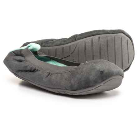 Jockey Ballerina Slippers (For Women) in Grey - Closeouts