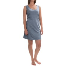 Jockey Jersey Cotton Chemise - Sleeveless (For Women) in Chambray - Overstock