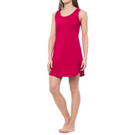 Jockey Jersey-Knit Chemise - Sleeveless (For Women) in Cranberry - Overstock
