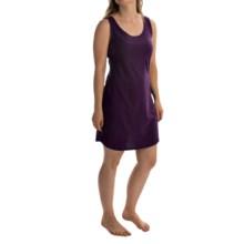 Jockey Jersey-Knit Chemise - Sleeveless (For Women) in Eggplant - Overstock
