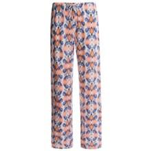 Jockey Printed Lounge Pants (For Women) in Multp Multi Ikat Blocks - Closeouts