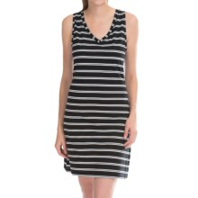 Jockey Shangri-La Chemise - Sleeveless (For Women) in Sammy Black/White Stripe - Closeouts