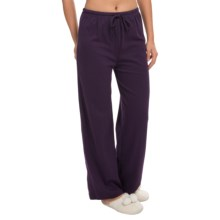 Jockey Solid Lounge Pants (For Women) in Eggplant - Closeouts