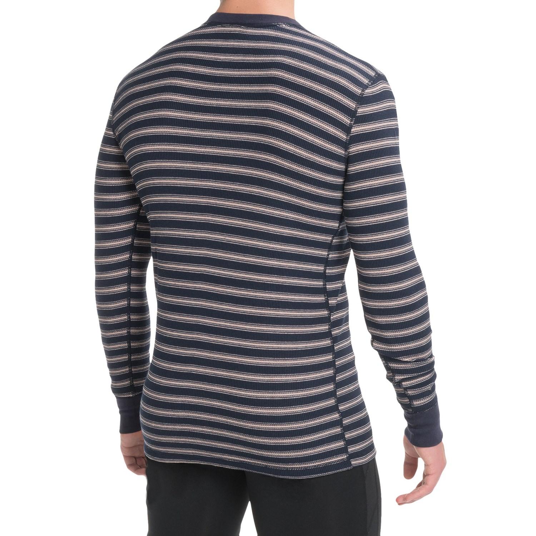 Jockey Stretch Waffle Henley Shirt (For Men) - Save 76%