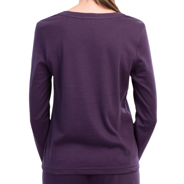 Jockey v neck lounge shirt for women save 81 for Jockey v neck shirt