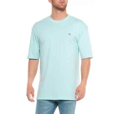 Joe Marlin Bahama Papa T-Shirt - Short Sleeve (For Men) in Aqua Reef - Overstock