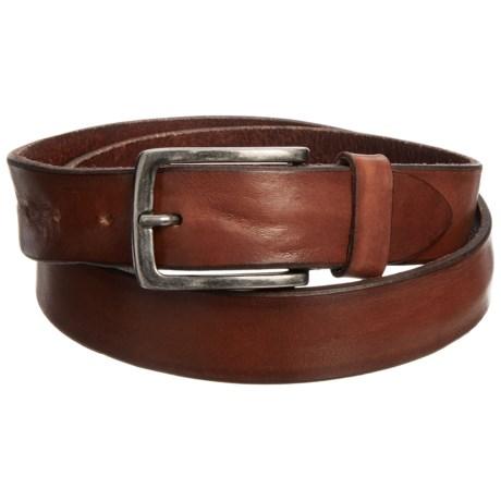 Joe's Jeans Distressed Leather Belt (For Men) in Tan