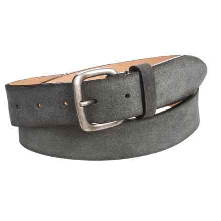 Joe's Jeans Suede Belt (For Men) in Grey - Closeouts