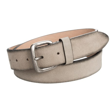 Joe's Jeans Suede Belt (For Men) in Tan