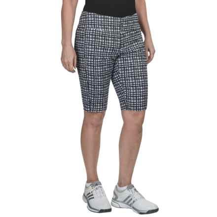 Jofit Bermuda Shorts (For Women) in Wicker Print - Closeouts