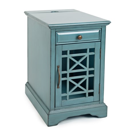Jofran Charging Storage Table in Blue