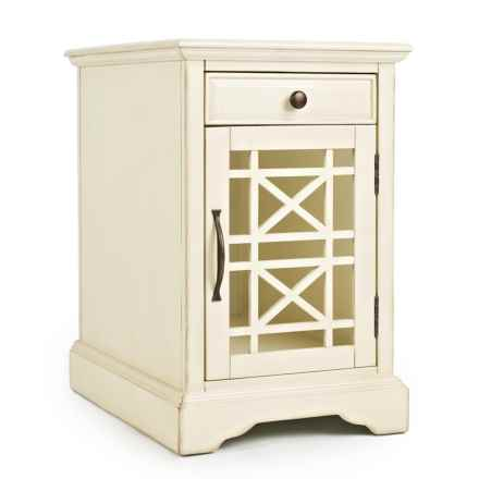 Jofran Charging Storage Table in Cream - Closeouts
