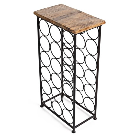 Jofran Wine Rack in Black