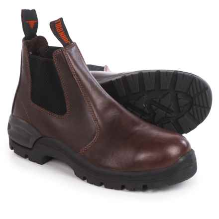 John Bull Tracker Boots - Leather, Factory 2nds (For Men and Women) in Oxblood - 2nds