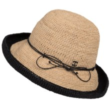 John Callanan Kettle Sun Hat - Raffia Straw (For Women) in Natrual - Closeouts