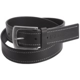 John Deere Contrast Stitch Belt - Leather (For Men)