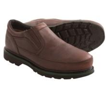 John Deere Footwear EH Work Shoes - Steel Toe, Leather (For Men) in Brown - Closeouts