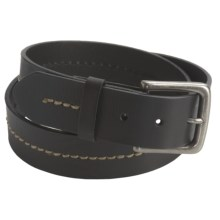 John Deere Tanned Leather Belt (For Men) in Black - Closeouts