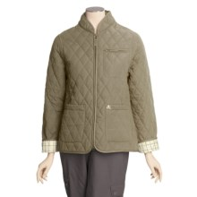 John Partridge Lichfield Quilted Microfiber Jacket (For Women) in Olive - Closeouts