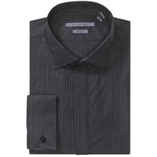 John Varvatos Collection Dress Shirt - Long Sleeve (For Men) in Licorice - Closeouts