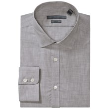John Varvatos Collection Dress Shirt - Slim Fit, Long Sleeve (For Men) in Grey Heather - Closeouts
