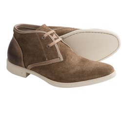 John Varvatos Dylan Chukka Boots - Suede (For Men) in Haze