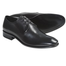 John Varvatos Richard Tux Oxford Shoes - Leather (For Men) in Black - 2nds