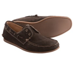 John Varvatos Schooner Boat Shoes (For Men) in Veridian