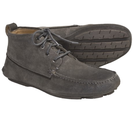 John Varvatos Star USA Dean Zip Trimmed Boots (For Men) in Oxide
